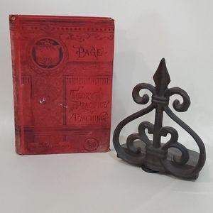 Red vintage school Book - Teaching - Teachers